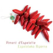 String of Espelette Peppers, AOC/PDO